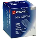 Rexel No. 66 14mm Heavy Duty Staples 100 Sheet Capacity (Pack of 5000)
