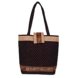 Womaniya Women's Handbag (Brown,Woman-328A)