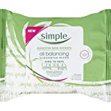 Simple Alcohol Fr Cleansing Towelettes 25 Ct