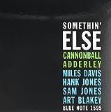 Somethin' Else [VINYL] Cannonball Adderley