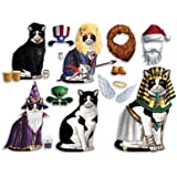 Children's Black And White Cat Dress Up Magnets - Exclusive From What On Earth