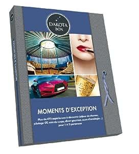 COFFRET CADEAU HOMME OU FEMME - MOMENTS D'EXCEPTION