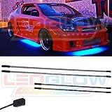 LEDGlow Blue SMD LED Slimline Underbody Underglow Kit