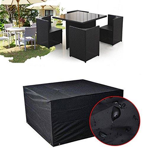 king do way schutzhuelle fuer tisch stuehle abdeckhaube gartenmoebel schutzhuelle abdeckung. Black Bedroom Furniture Sets. Home Design Ideas