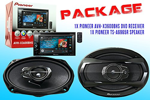 Package ! Pioneer Avh-X3600Bhs Dvd Receiver + Pioneer Ts-A6965R Car Speakers