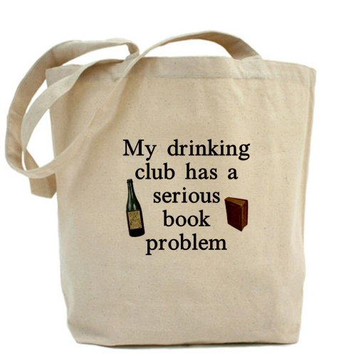 CafePress My Drinking Club Tote Bag Wine Lover - Standard Multi-color