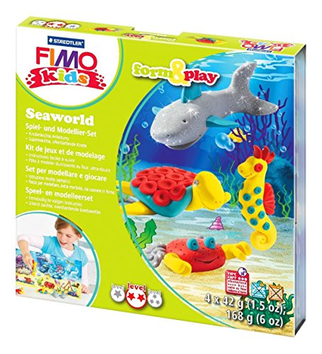 fimo-kids-form-and-play-craft-set-under-the-sea-modelling-clay-4-x-42g