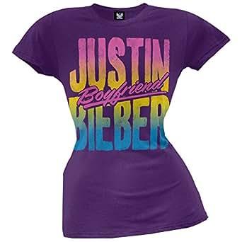 Amazon.com: Justin Bieber - Beach Juniors T-Shirt X-Large ... - photo #11
