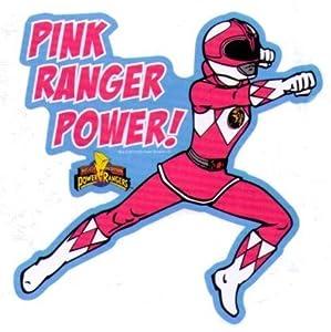 Amazon.com: Mighty Morphin Power Rangers Pink Ranger Sticker: Toys