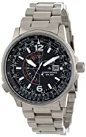 "Citizen Men's BJ7000-52E ""Nighthawk"" Stainless Steel Eco-Drive Watch by Citizen"