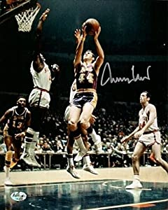 Autographed Hand Signed Jerry West 8x10 Photo - Los Angeles Lakers by Hall of Fame Memorabilia
