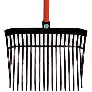 Intrepid International Fab Fork with Handle, Black