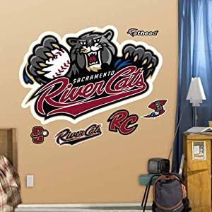 Sacramento River Cats Logo by Fatheads