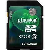 Kingston Carte mémoire SD SDHC Classe 10 pour appareil photo Panasonic Lumix DMC-TZ40 32 Go