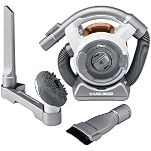 black decker fhv1200 cordless mini canister vacuum with flexible hose household. Black Bedroom Furniture Sets. Home Design Ideas