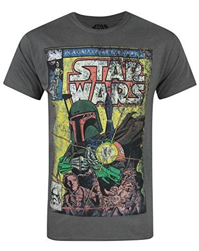 Official Star Wars Boba Fett Comic Men's T-Shirt (S)