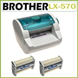 51kaE0lYO8L. SL160  Brother Backster LX 570 Multi Finisher Laminator with Two LF AO5 5 inch Permanent Adhesive Only Cartridge