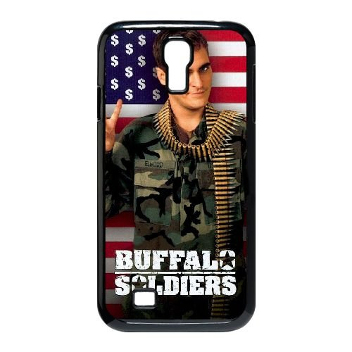 E1X14 Buffalo Soldiers High Resolution Poster P1W2NB cover Samsung Galaxy S4 9500 Cell Phone Case Cover Black FW6FYT5NA