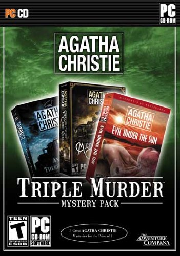 Agatha Christie: Triple Murder Mystery Pack (And Then There Were None + Murder on the Orient Express + Evil Under the Sun)