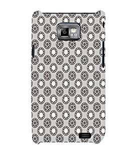 EPICCASE techno rings Mobile Back Case Cover For Samsung Galaxy S2 (Designer Case)