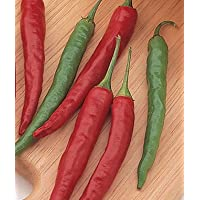 Burpee Pepper Big Thai Hybrid 54174 (Green to Red) 25 Seeds