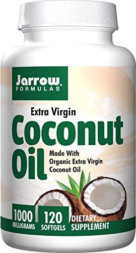 Jarrow Formulas Coconut Oil 100% Organic, Extra Virgin, 1000 mg, 240 Count (Jarrow Coconut Oil Extra Virgin compare prices)