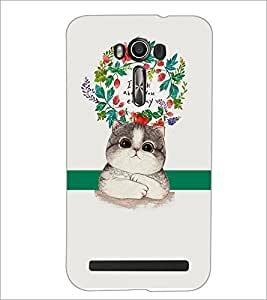 PrintDhaba Quote D-2875 Back Case Cover for ASUS ZENFONE 2 LASER ZE550KL (Multi-Coloured)