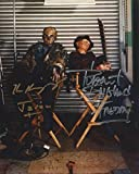 Freddy vs. Jason Signed Autographed Robert Englund and Ken Kirzinger as Freddy Krueger and Jason Voorhees 8x10 Photo