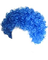 SeasonsTrading Economy Blue Afro Wig ~ Halloween Costume Party Wig (STC13035)