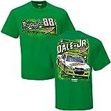 NASCAR Men's Hendrick Motorsports-Mountain Dew-Driver T-Shirt-Dale Earnhardt Jr #88-Mountain Dew Allstar-Kelly Green-Large