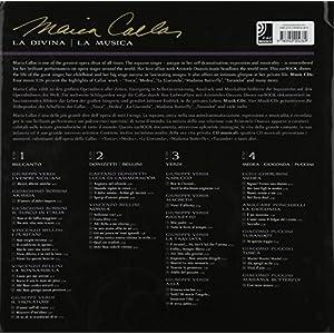 Callas - Fotobildband inkl. 4 Musik-CDs (earBOOK): La Divina / La Musica (earBOOKS)