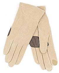 Echo Design Women's Echo Touch Milk Basic Glove, L/XL, Camel