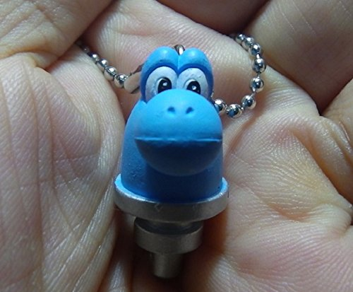 Yoshi's New Island Figure Swing Keychain~Drill (Drill Keychain compare prices)