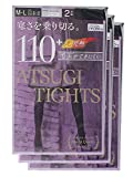 (アツギ)ATSUGI タイツ ATSUGI TIGHTS (アツギタイツ) 110デニール 〈2足組3セット〉 FP11102P 581 ナイトネイビー M~L