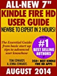 """All New 7"""" Kindle Fire HD User Guide..."""