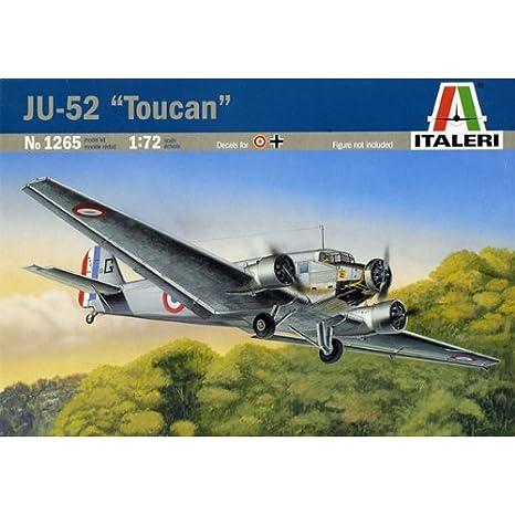 Italeri - I1265 - Maquette - Aviation - Junkers JU52/3M Toucan - Echelle 1:72