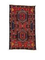 L'EDEN DEL TAPPETO Alfombra Beluchistan Rojo/Multicolor 85 x 142 cm