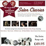 Hairdressing DVD Salon Classics The Foundations To Great Hairdressingby The Salon Range