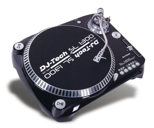 DJ-Tech SL 1300 MK6 Professional Direct Drive Turntable