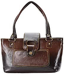 Noble Designs Women's Handbags (Brown)