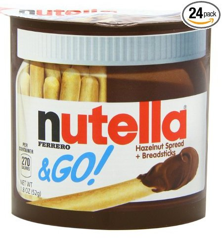 Nutella Go, 1.8 Ounce (Pack of 24): Amazon.com: Grocery & Gourmet Food