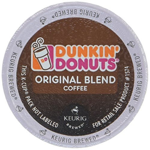 Dunkin Donuts K-Cups Original Flavor - Box of 12 Kcups for use in Keurig Coffee Brewers 5.1oz (Keurig Dunkin Donuts Decaf compare prices)