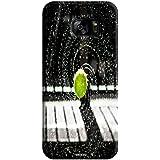 Tecozo Designer Printed Back Cover For Samsung Galaxy S7, Samsung Galaxy S7 Back Cover, Hard Case For Samsung Galaxy S7, Case Cover For Samsung Galaxy S7, (Tennis Ball In Rain Design,Sports)
