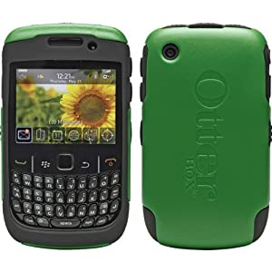 Blackberry 8500 Series Otterbox Case Green/Black