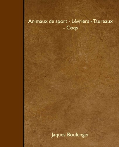 Animaux de sport - L PDF