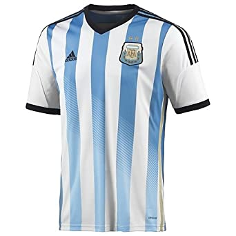 Buy ARGENTINA HOME AUTHENTIC SOCCER JERSEY WORLD CUP 2014 by adidas