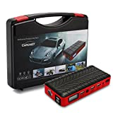 CARCHET Car Jump Starter 12000Mah Best Heavy Duty Portable Vehicle Quick Jumper Pocket Size Booster Automotive Emergency Power Bank Multi-functional External Battery Charger 12V 400A