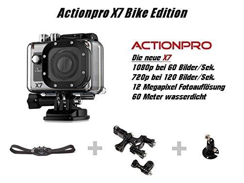 Actionpro actionpro x7 édition vélo vélo guidon toomount toomount intenso-carte 32Go