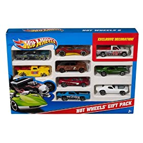 Buy Hot Wheels 9-Car Gift Pack (Styles May Vary) by Mattel