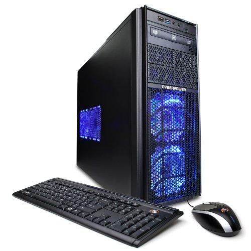CyberpowerPC Gamer Ultra GUA340 Desktop (Black/Blue)